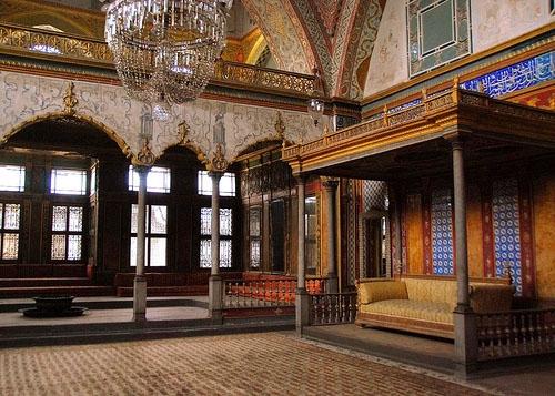 Topkapi Palace Throne Room