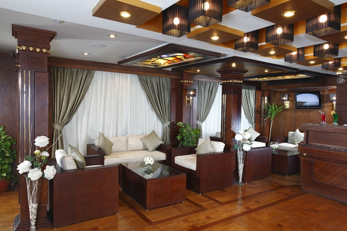 Dahabiya Nile Cruise Lounge