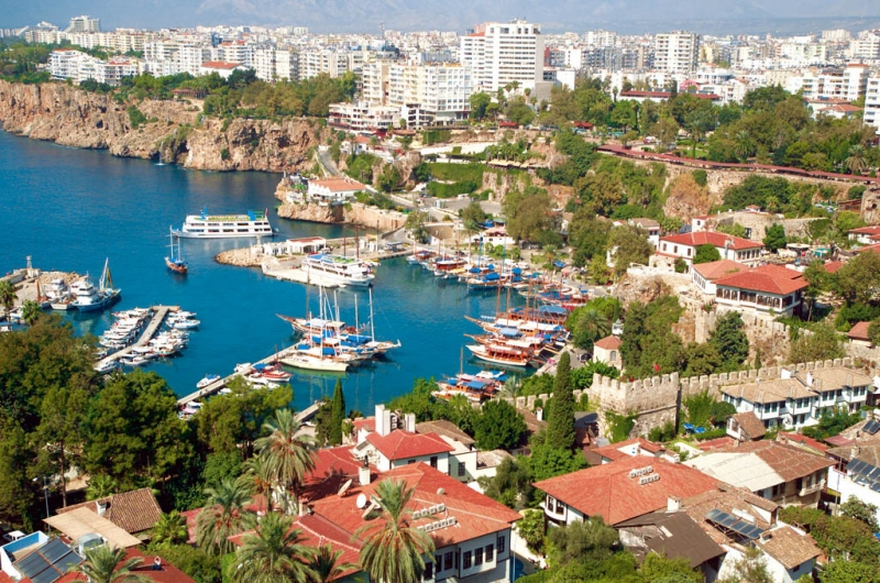 The City of Antalya