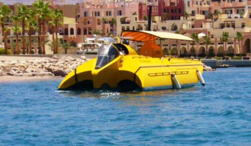 Neptune Submarine Tour in Aqaba, Jordan