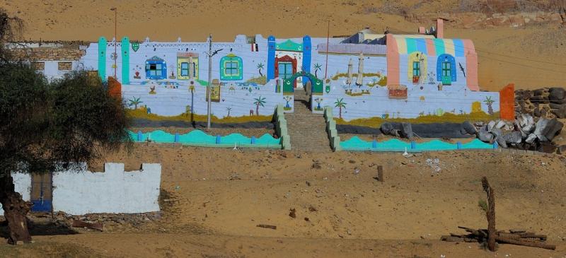 Nubisches Dorf Assuan