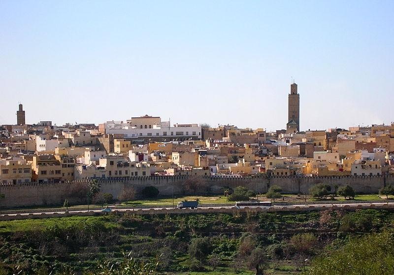 La ciudad de Meknes
