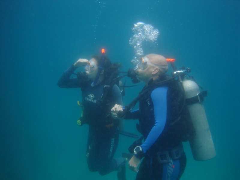 Diving in Sharm