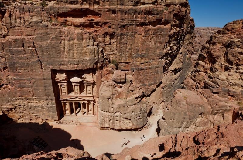 Panorama of Petra