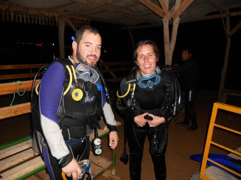 Scuba Divers in Sharm