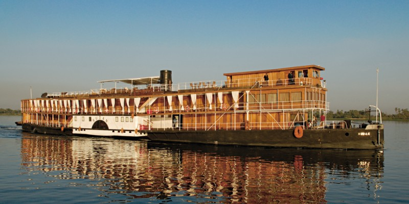 SS Sudan Nile Steamer Cruise Luxor