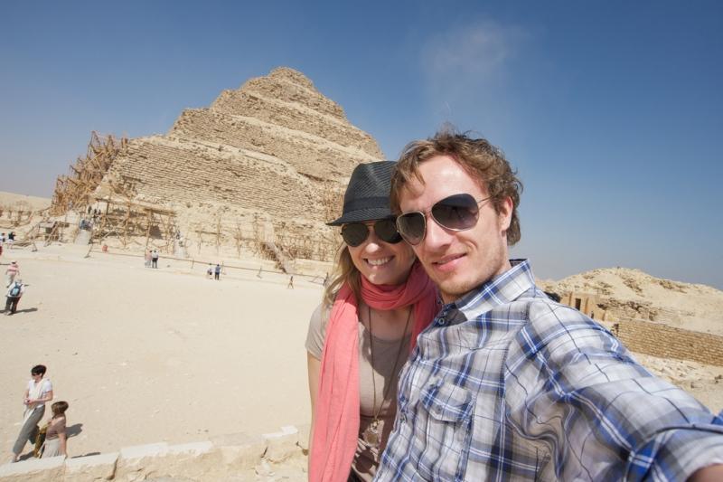Landausflug zu den Pyramiden