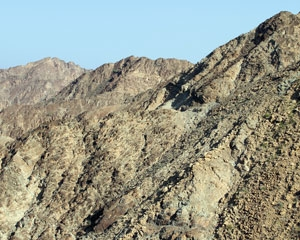 Ophiolite obduction in Oman