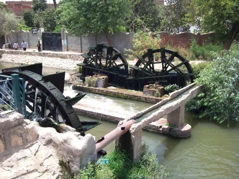 Roues à eau, El Fayoum