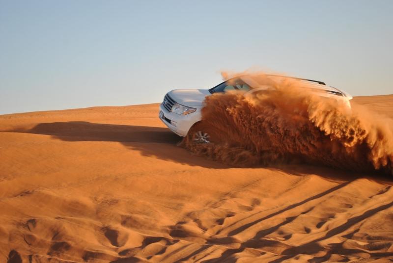 Safari a Dubai in Mattinata
