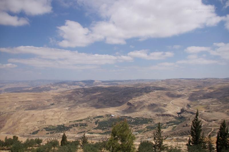 Mountain Nebo, Jordan