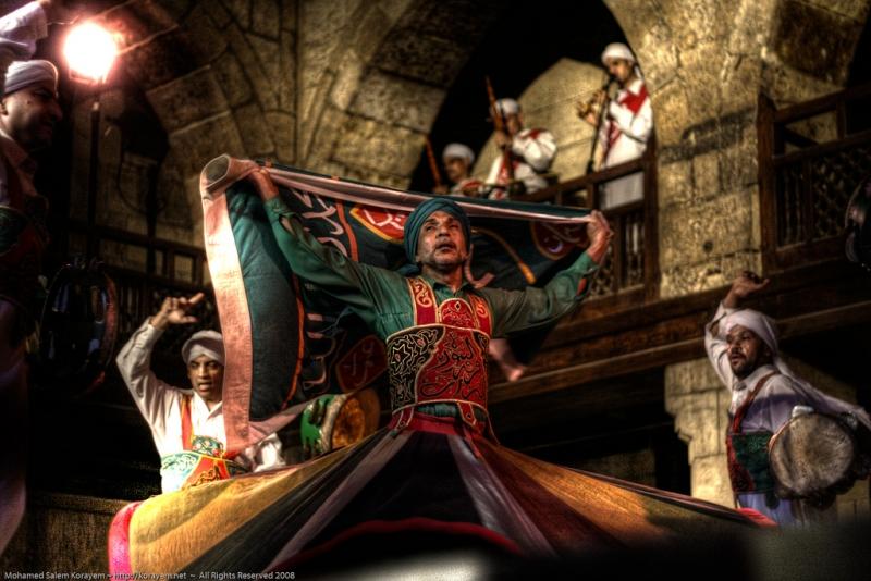 Cairo Tanoura Folklore Show