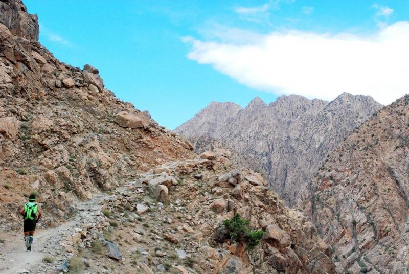 Montagna di Toubkal del Marocco