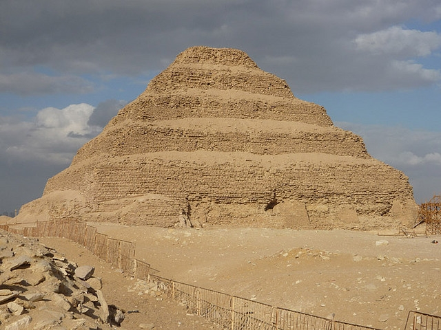 A Pirámide de degraus de Sakkara