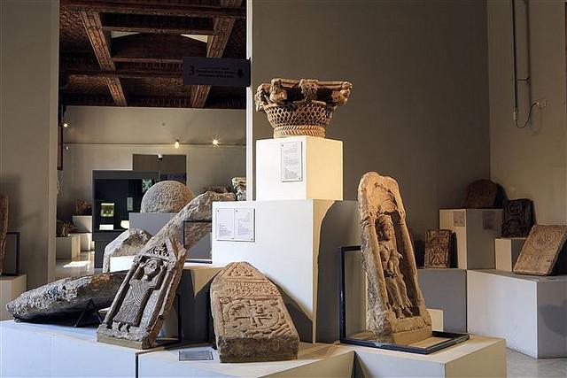 Antiquities Inside The Coptic Museum in Cairo