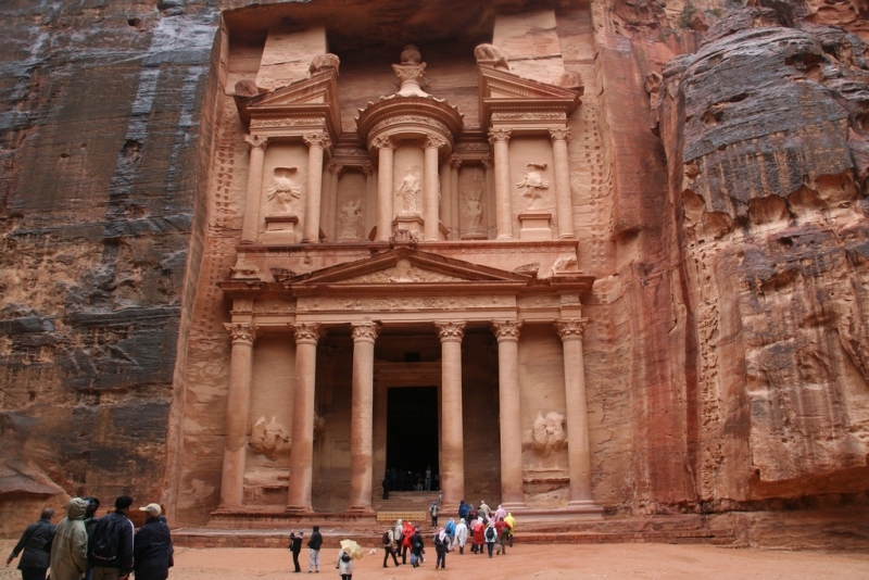 The ancient Petra, Jordan