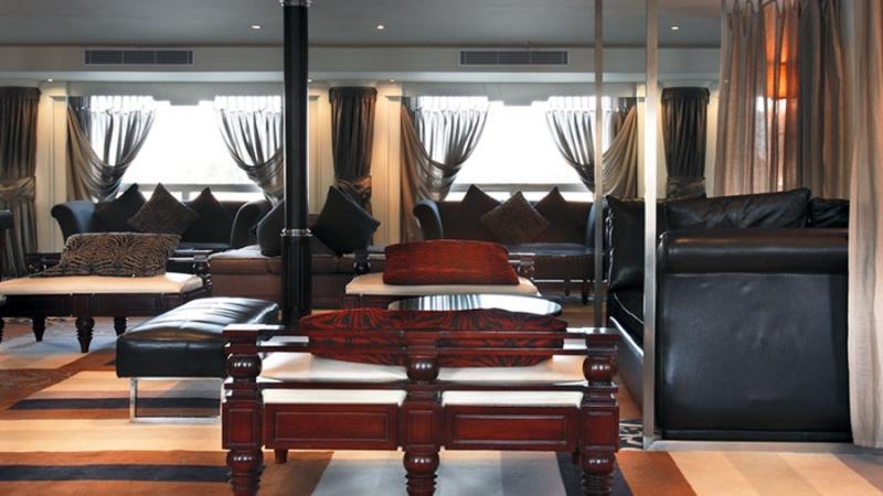 MS Hamees Nile Cruise Sitting Corner