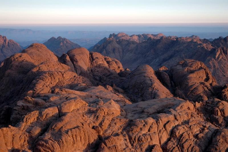 Moses Mountain in Sinai