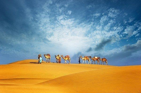 Deserto de Dubai.