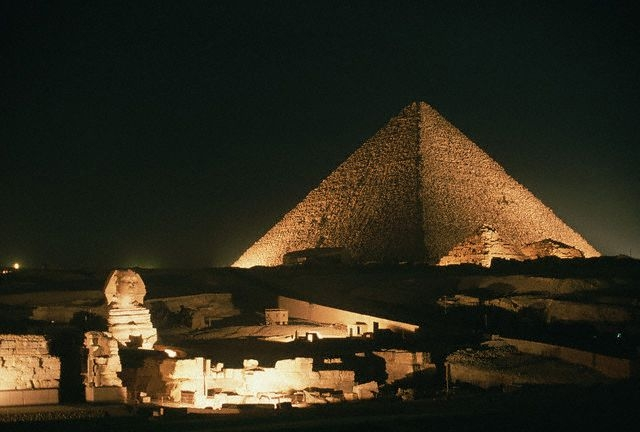 Sound and Light Show at the Pyramids area