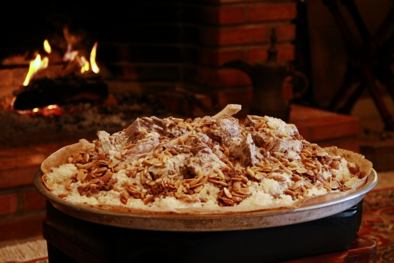 Mansaf (Jordan's Traditional Dish)