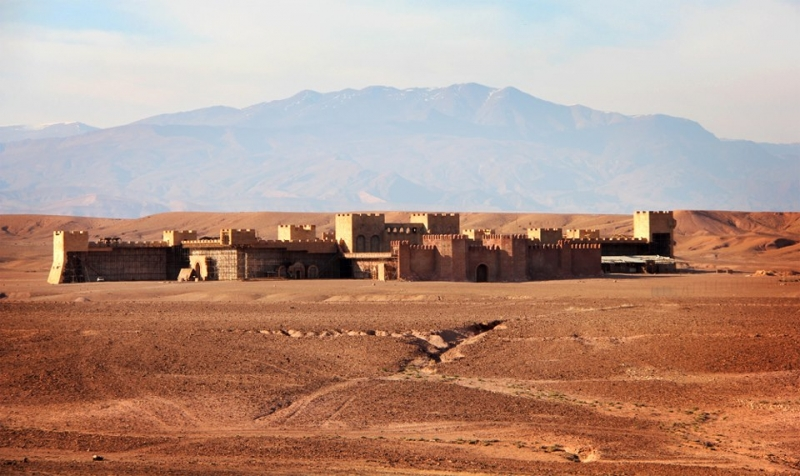 The world's largest film studio in Ouarzazate