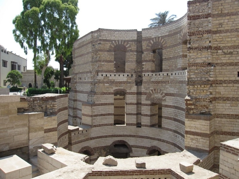 Babylon Fortress in Coptic Cairo