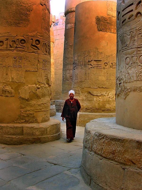 O Templo de Karnak, Luxor