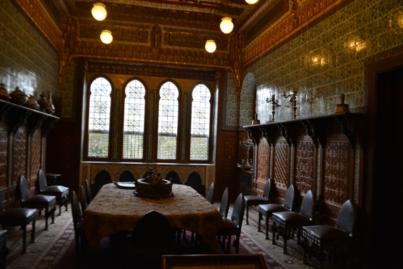 Manial Palace Dining Room, Cairo