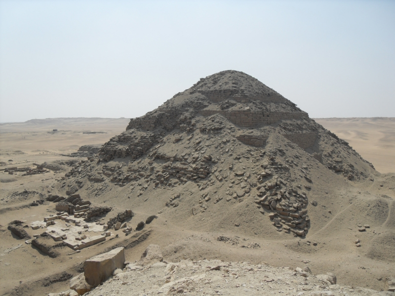 Abu Sir Necropolis - Pyramid of King Neferirkare