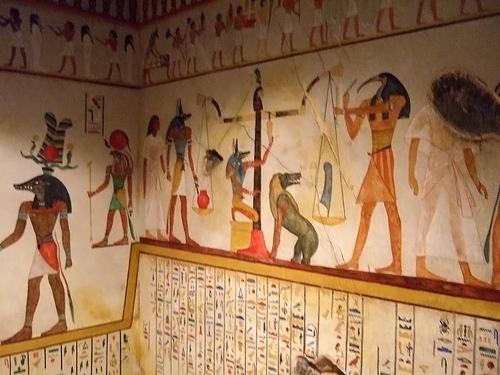Tomb of Bakht III, Beni Hassan-Minya