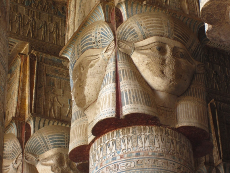 La Dea Hathor, Tempio di Dendera