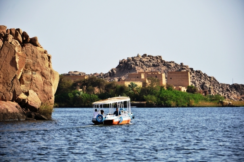 Philae Temple on the Nile, Aswan