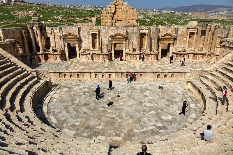The Roman Jerash.
