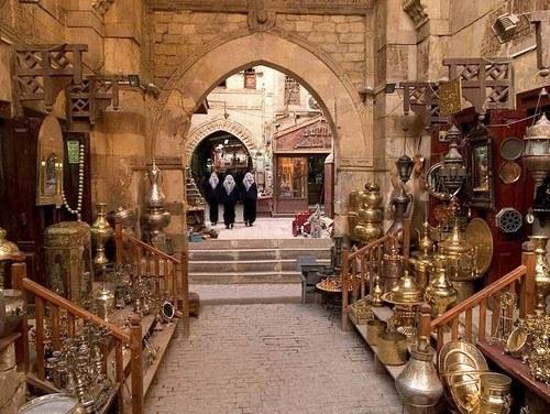 Souk el Khan el Khalili; Le Caire