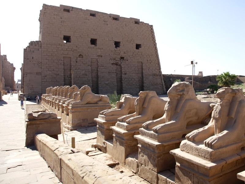 Karnak Temple in Upper Egypt
