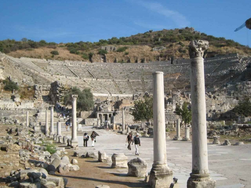 Vestiges d'Éphèses, Cappadoce