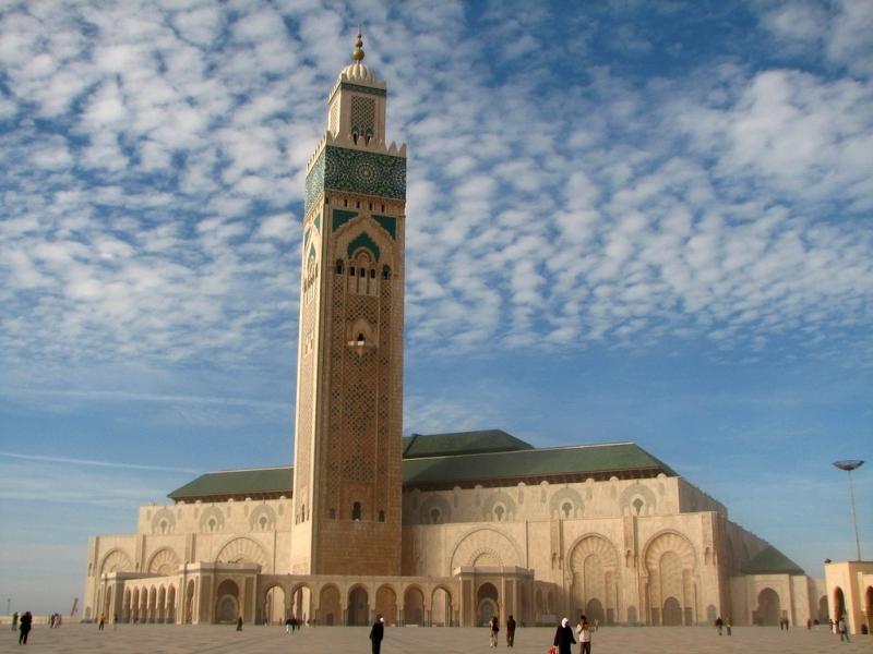 Mosque de Hassan II - Casablanca