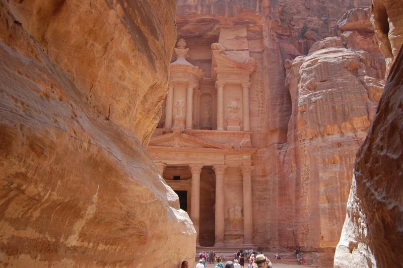 The Siq, (Way to Petra)