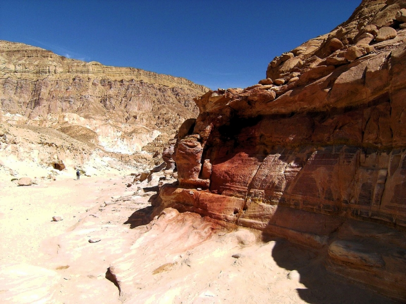 St. Catherine and Colored Canyon by Jeep
