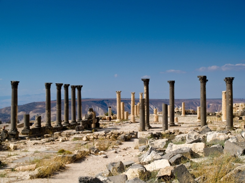 Umm Qais Greaco Roman City