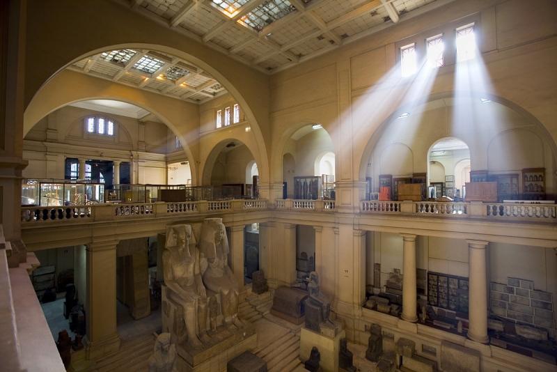 Il Museo delle Antichità Egizie al Cairo