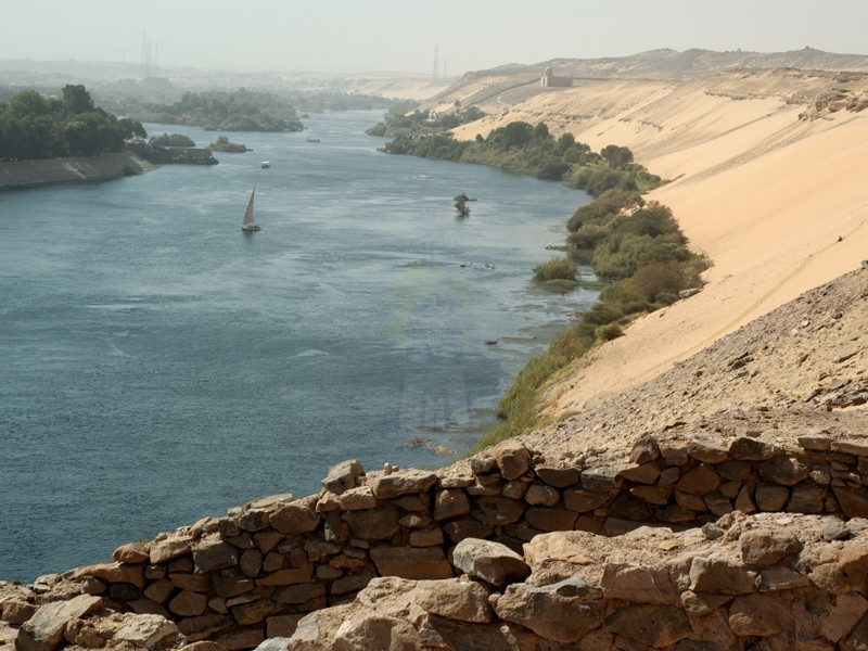 View of Nile River, Aswan