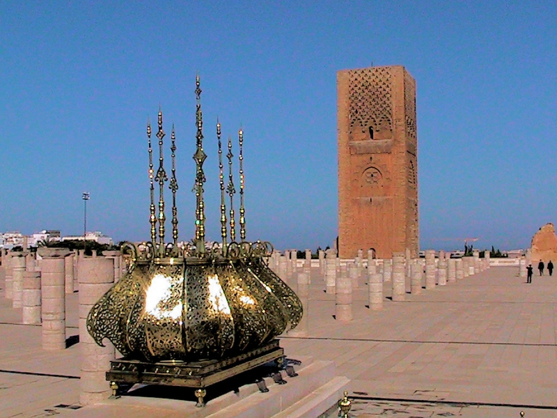 Hassan Tower in Rabat
