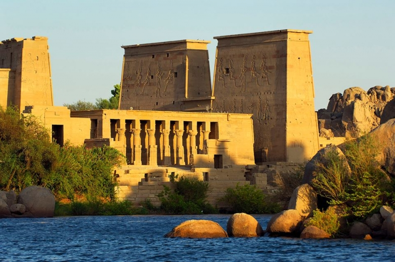 The Temple of Philae, Aswan