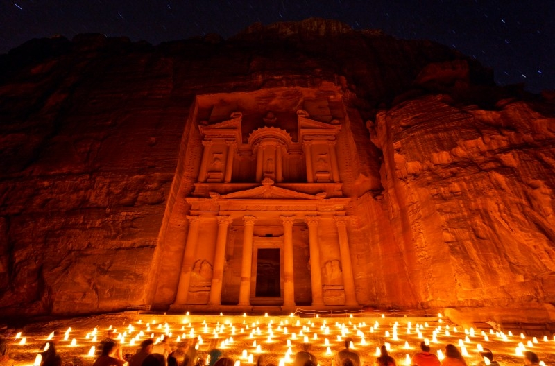 Petra by Night (Treasury)