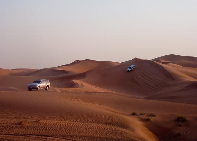 Safari dans le désert, Dubaï