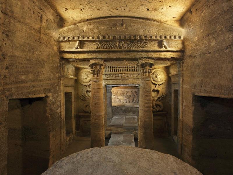 The Catacombs of Kom el-Shuqafa | Alexandria