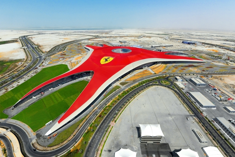 Parc Ferrari, Île Yas à Abu Dhabi