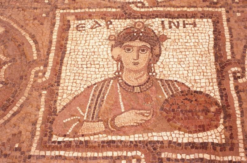 Mosaicos em Petra